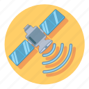device, satellite, signal, technology, wireless icon