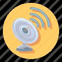 antenna, satelite, satellite, sattelite, signal, technology icon