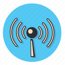 antena, antenna, internet, signal, web, wifi, wireless icon