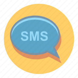 bubble, chat, message, sms, speech, talk icon