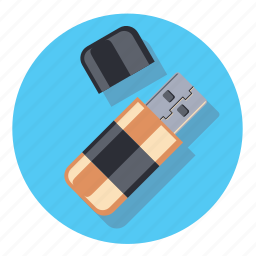 data, database, disk, memory, stik, storage icon