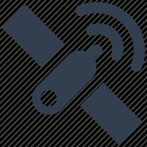 antenna, broadcasting, communication, global, gps, navigation, network, satelite, silhouette, transmmiting, wireless icon