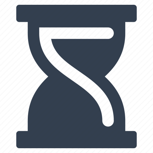 clock, hourglass, sand, sign, time icon