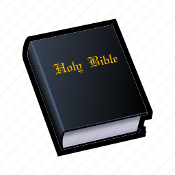 bible, book, church, heaven, magic, priest, saint icon
