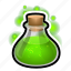 bulb, flask, magic, poison, potion, spell, witch icon