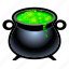cauldron, halloween, magic, poison, power, spell, witch icon