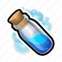 cylinder, flask, healing, magic, mana, potion, witch