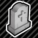 cemetery, dead, grave, graveyeard, magic, zombie icon