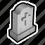 cemetery, dead, grave, graveyeard, magic icon