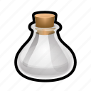 bulb, empty, magic, potion, spell, sphere, witch