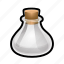 bulb, empty, magic, potion, spell, sphere, witch icon