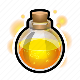 fire, flask, magic, potion, spell, sphere, witch icon