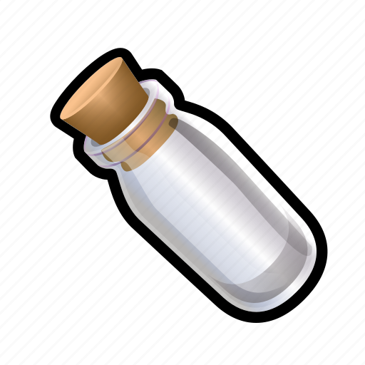 empty, flask, magic, potion, spell, sphere, witch icon