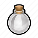 empty, magic, potion, spell, sphere, witch icon