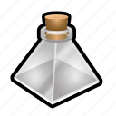 empty, magic, potion, spell, sphere, triangle, witch icon