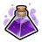 flask, magic, mana, potion, spell, triangle, witch icon