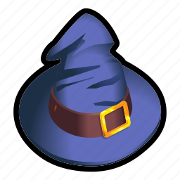 hat, mage, magic, spell, witch, wizard icon