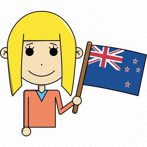 australia, avatar, character, country, face, flags, woman icon