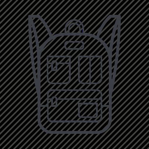 backpack, comfort, fashion, rucksack, urban icon