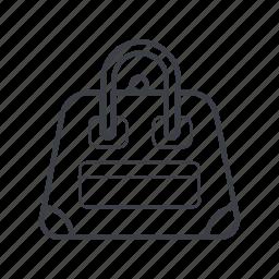 bag, business, girl, woman icon