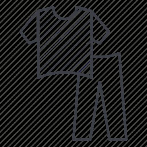 clothing, costume, pants, pyjamas, shirt, sleep, woman icon