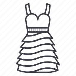 clothes, clothing, dance, dress, style, sundress, wear icon