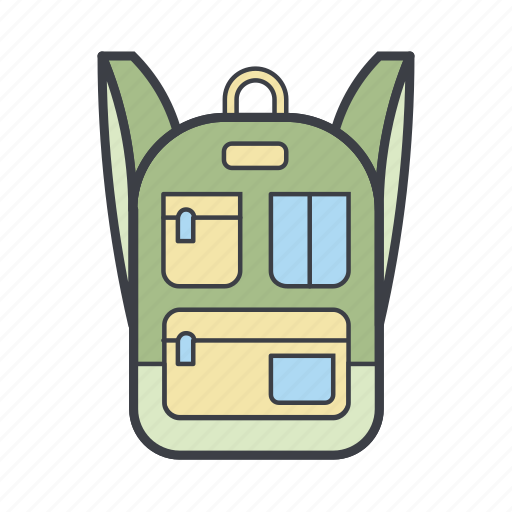 backpack, fashion, rucksack, urban icon