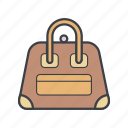 bag, business, fashion, girl, shopping icon