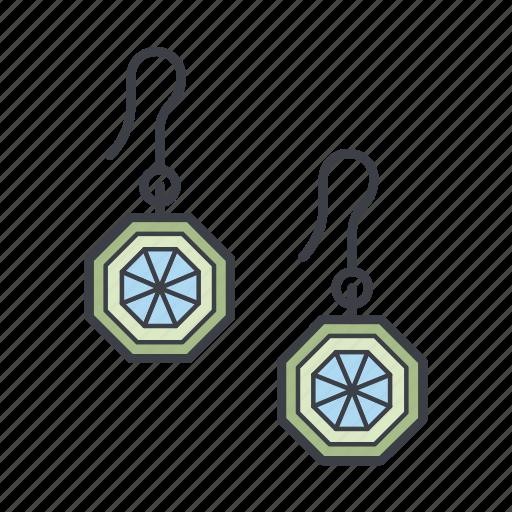 earrings, fashion, jewelry, shopping icon