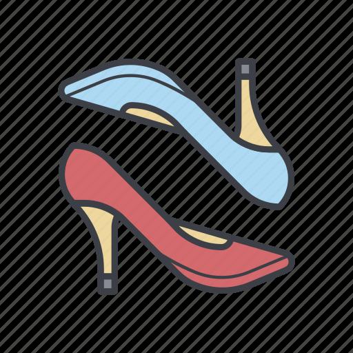 fashion, high heels, shoes, shopping icon