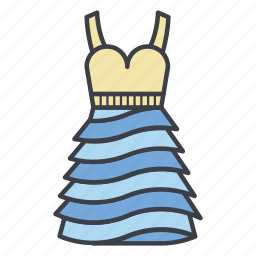 dance, dress, summer, sun, sundress icon