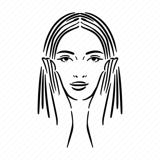 beauty, face, fashion, female, woman, woman face icon