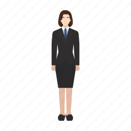 boss, business, employer, job, occupation, profession, woman icon