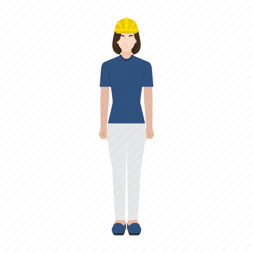 business, employee, job, occupation, profession, woman, worker icon
