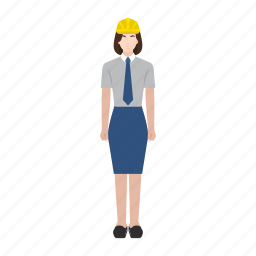 business, job, labor, occupation, profession, woman, worker icon