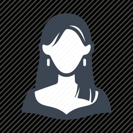 avatar, elegant, female, user, woman icon