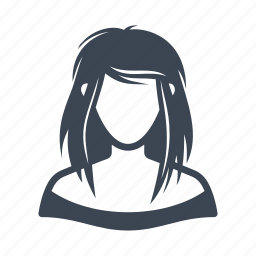 avatar, girl, student, teenager, user, woman icon