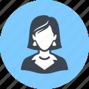 woman, businesswoman, avatar, teacher