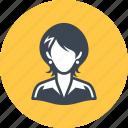 avatar, businesswoman, teacher, woman