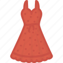 ball, clothes, dress, evening icon
