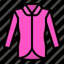 clothes, clothing, fashion, long sleeve, shirt icon