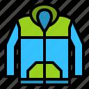 clothes, clothing, fashion, jacket, long sleeve icon
