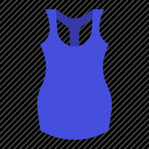 clothes, clothing, fashion, female, garment, sleeveless shirt icon