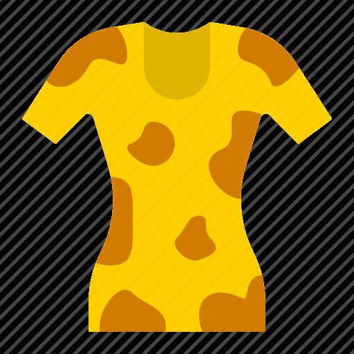 clothes, fashion, female, skin tight shirt, woman icon