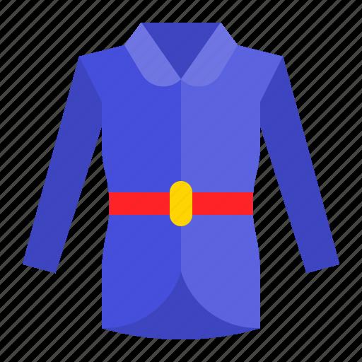 clothes, clothing, coat, fashion, long sleeve icon