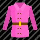 clothes, clothing, coat, fashion, long sleeve, shirt icon