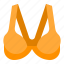 bra, brassiere, clothes, undergarment, underwear, woman icon