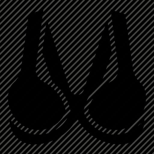 bra, brassiere, clothes, fashion, undergarment, underwear icon
