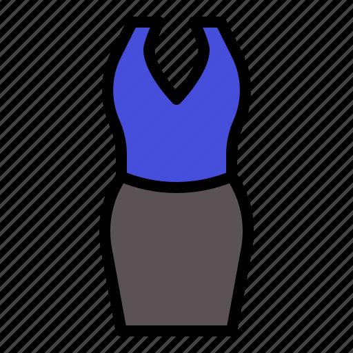 clothes, clothing, dress, female, feminine, garment, woman icon