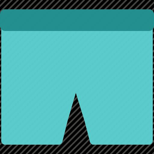 cloth, clothing, fashion, shorts icon